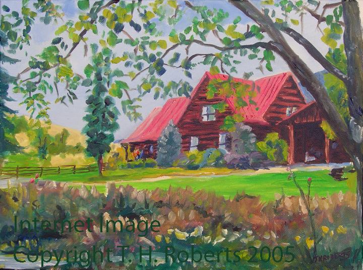 Paintings Of Tom Roberts